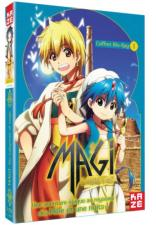 Magi The Labyrinth of Magic Saison 1 Partie 1 sur 2 Blu-ray